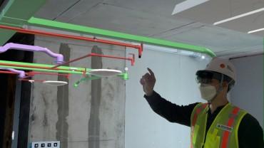 Hyundai E&C Employs AR Technology for Construction and Quality Management