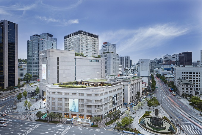 This undated photo, provided by Shinsegae Inc., shows its flagship department store in central Seoul.