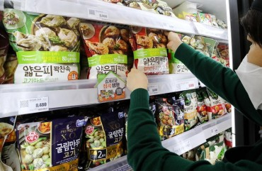 Exports of Korean-made Frozen Dumplings on Steep Rise