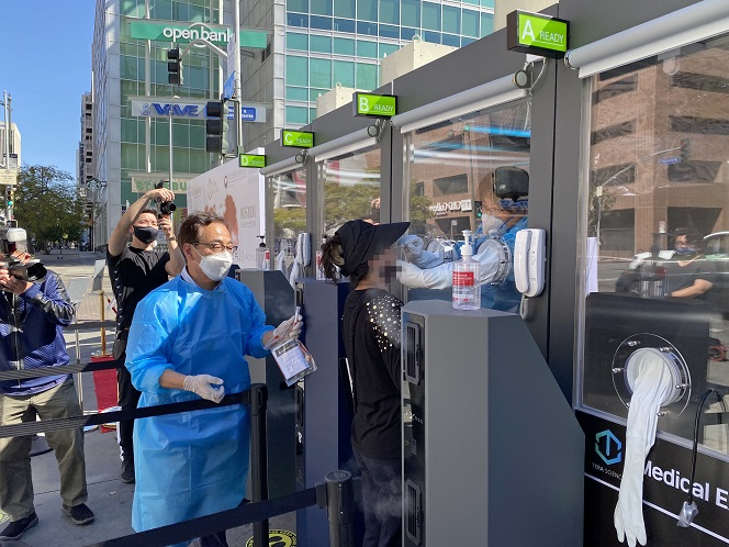 Korean Volunteer Organization Offers Free Coronavirus Tests in Los Angeles