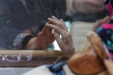 In-person or Non-contact Visits Resume at Nursing Homes, Hospitals