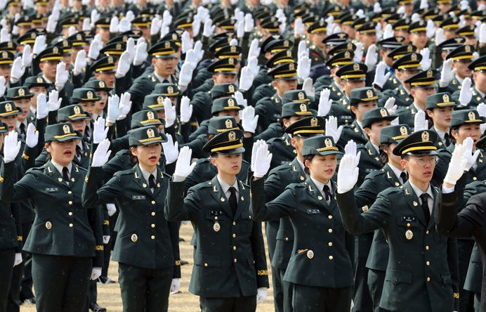 S. Korea Again Faces Debate over Female Military Draft