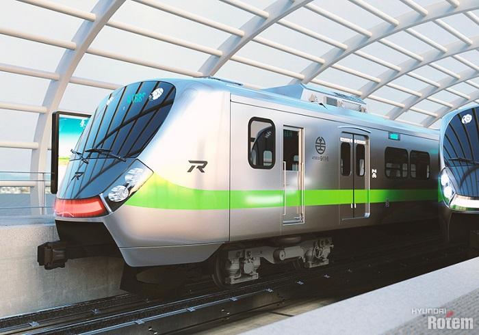 Hyundai Rotem Train Enters Service in Taiwan