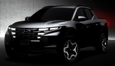 Hyundai Teases Santa Cruz Ahead of U.S. Launch This Month