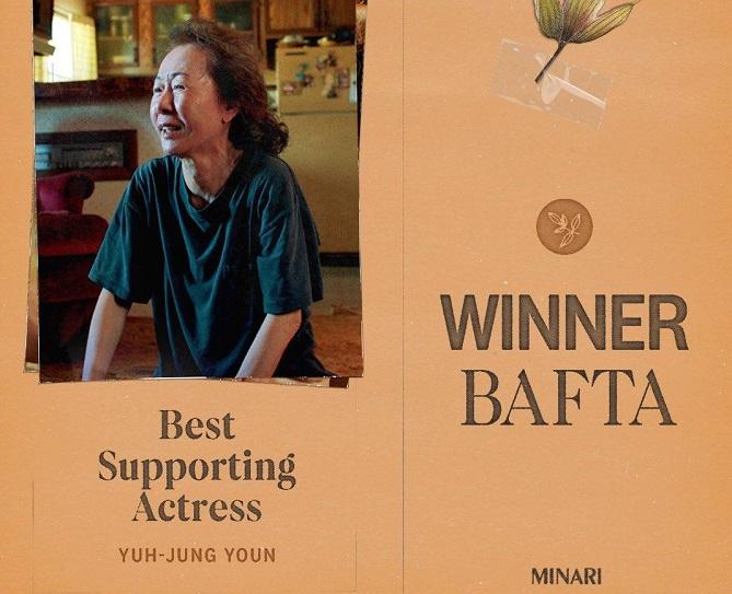 Korean Youn Yuh-jung Wins Best Supporting Actress for 'Minari' at BAFTA