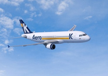 Aero K Begins Regular Flights as S. Korea's 8th Budget Carrier