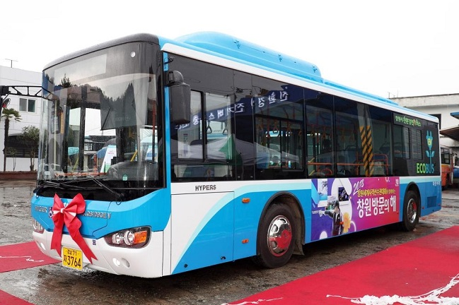 Chinese Electric Bus Manufacturers Set Up Shop in S. Korea
