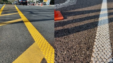 Seoul's Seocho District Introduces 'Water Drop' Traffic Lanes to Raise Visibility