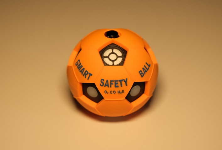 POSCO Develops Toxic Gas Sensing Safety Ball for Enclosed Spaces