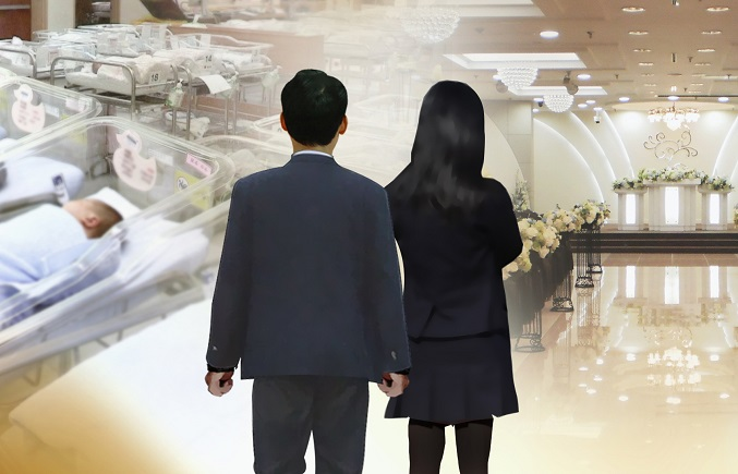 Six out of 10 Korean Youths Think Marriage Unnecessary