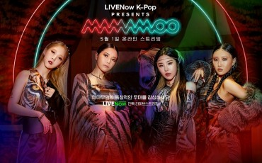 Mamamoo to Hold Online Concert on British Streaming Platform Next Month