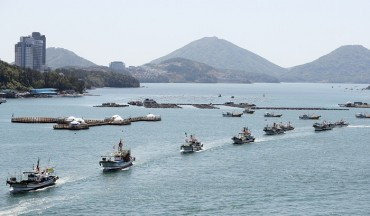 Fishermen Stage Maritime Demonstrations to Protest Japan's Fukushima Decision