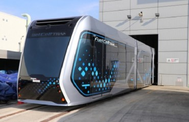 S. Korea Reveals Country's First Hydrogen Tram Concept