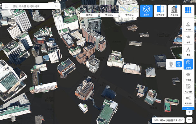 Seoul City Develops 3D Map to Solve Urban Problems