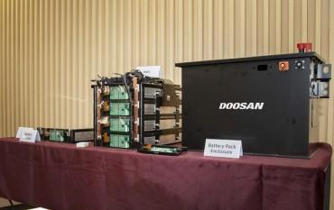 Doosan Infracore Releases Prototype of Battery Packs for Construction Equipment