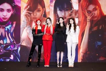K-pop Girl Group aespa Signs with Major U.S. Agency