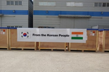 S. Korea to Ship Oxygen Concentrators, Other Medical Supplies to Virus-hit India