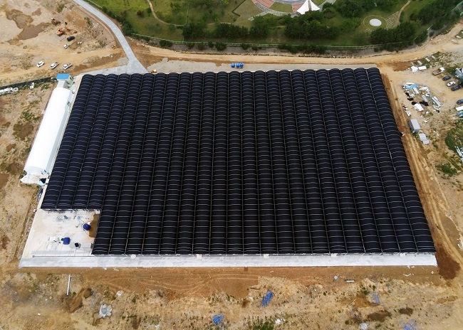 Smart Aquafarm Using Hot Wastewater from Thermal Power Plant Opens