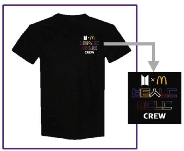 McDonald's Staff Worldwide to Wear BTS Korean Letter Shirt