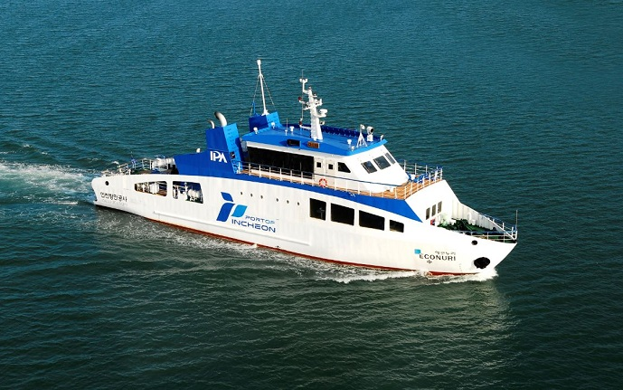 LNG-powered Ship Helps Foster Startups