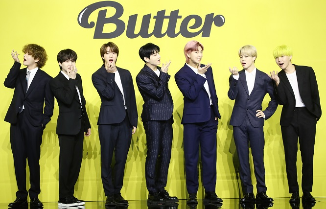 BTS Tops the Billboard Hot 100 Chart With 'Butter'