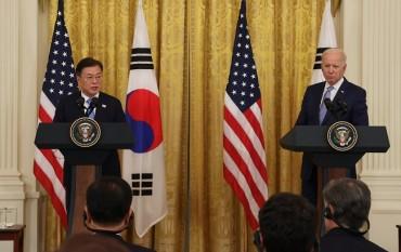 Over Half of Koreans Say Moon-Biden Summit Talks Went 'Well'