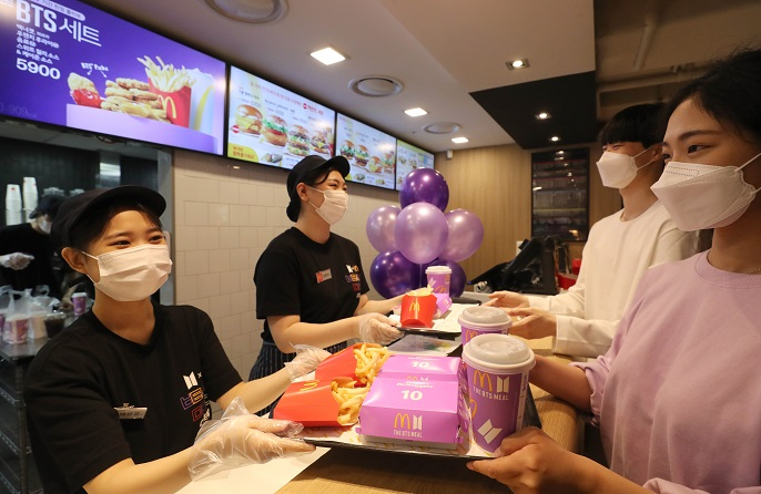 Fans Flock to McDonald's Upon Release of BTS Meal