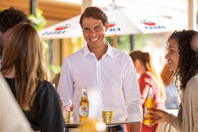 """Amstel ULTRA® Launches """"Choose Your Way to Live"""" Campaign with Tennis Legend Rafa Nadal"""