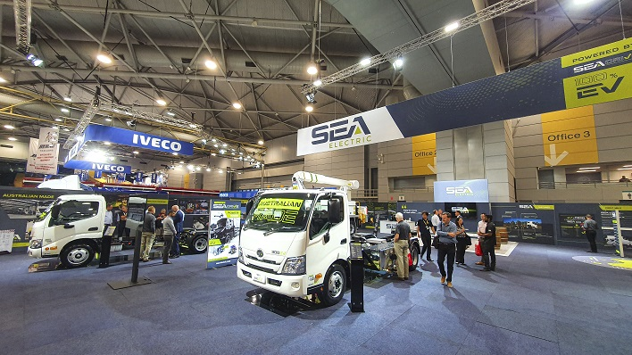 Sea Electric Extends Worldwide Presence with Increased Global Management Team and Strong Showing at Brisbane Truck Show
