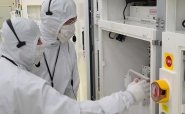 S. Korea Atop Q1 Chip Equipment Spending Chart
