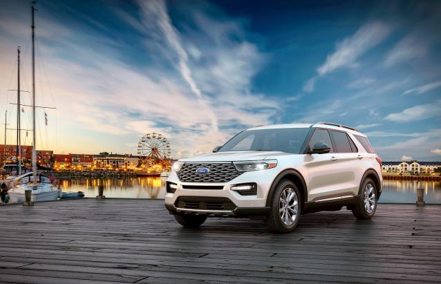 This photo provided by Ford Korea on Jan. 6, 2021, shows the new Ford Explorer SUV.