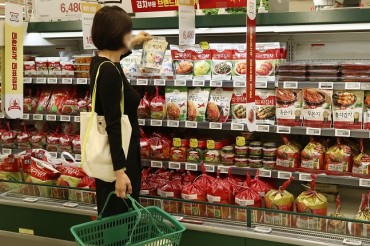 S. Korea Consumes 1.86 mln Tons of Kimchi in 2019