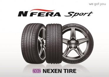 Nexen Tire N'FERA SPORT Selected as Original Equipment on Volkswagen Golf and SEAT Leon