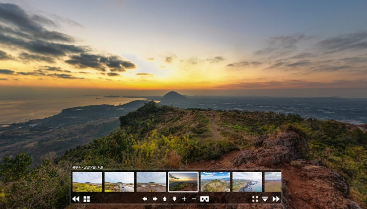 Jeju Island Launches VR Content at 'Visit Jeju' Portal