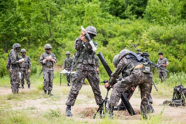 S. Korea Deploys Advanced 81-mm Mortar System