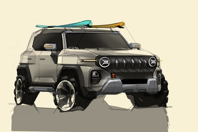 SsangYong Unveils Design Sketch of New SUV