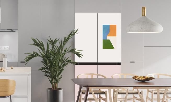 New Samsung App Brings Art to Refrigerator Screens