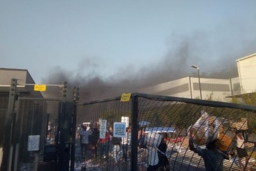 LG Electronics' TV Factory in South Africa Burns Down After Riots