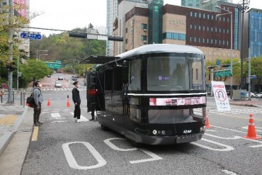 Self-driving Commercial Vehicles to Hit Western Seoul in October