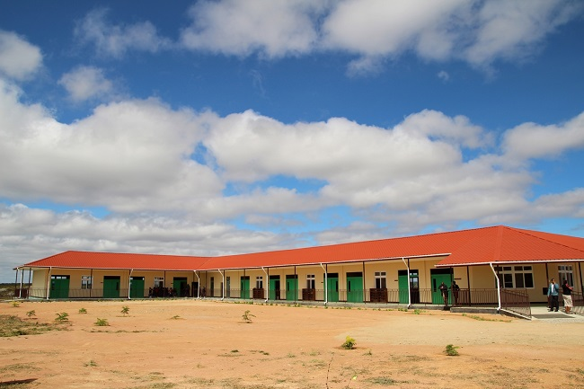 This photo, provided by the Miral Welfare Foundation, shows the Singida New Vision School it built in Tanzania in 2018.