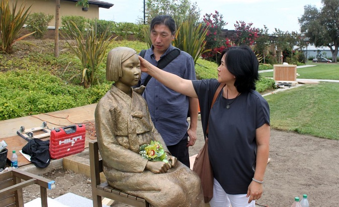 Sculptor Couple Slam Japan for Trying to Distort History of War Crimes