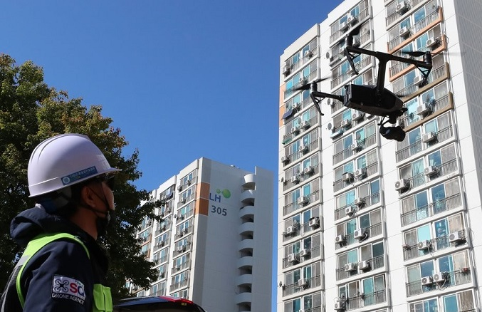 Public Housing Developer to Use Drones to Check Construction Sites and to Scrutinize Land Compensation