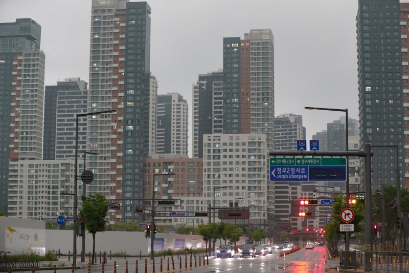 Apartment Prices Soar Fivefold in Sejong Under Moon Presidency: Civic Group