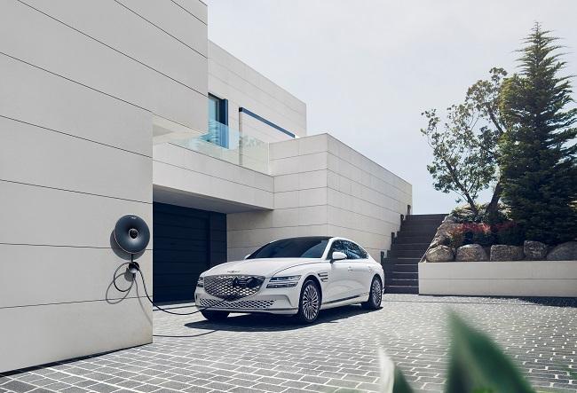 Hyundai Launches 1st Electrified Genesis Model