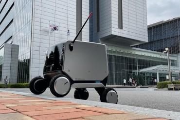 LG Electronics Unveils Indoor-outdoor Delivery Robot