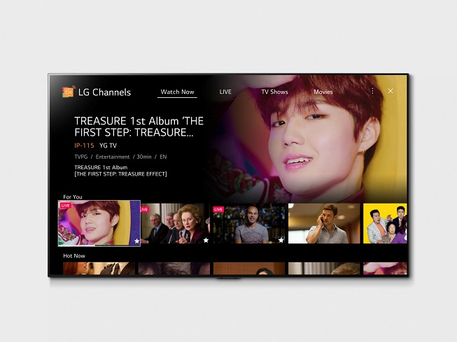 LG Electronics to Expand Streaming Service on Smart TVs