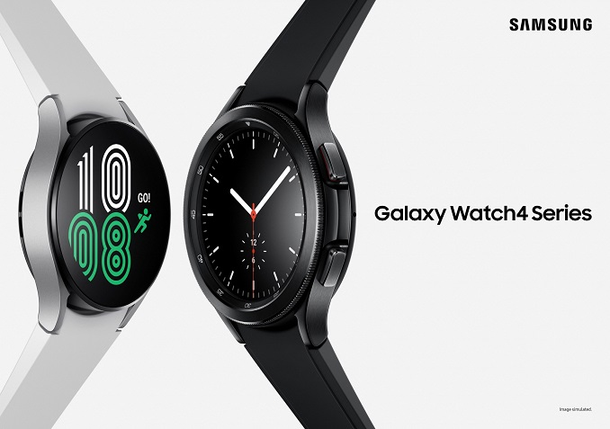 Samsung Introduces Galaxy Watch4 with New OS, Lighter Wireless Earbuds