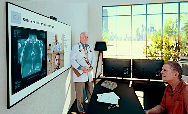 LG Electronics Introduces Cloud-based Remote Healthcare Solution for Hospitals