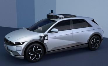 Hyundai Unveils IONIQ 5-based Robo Taxi