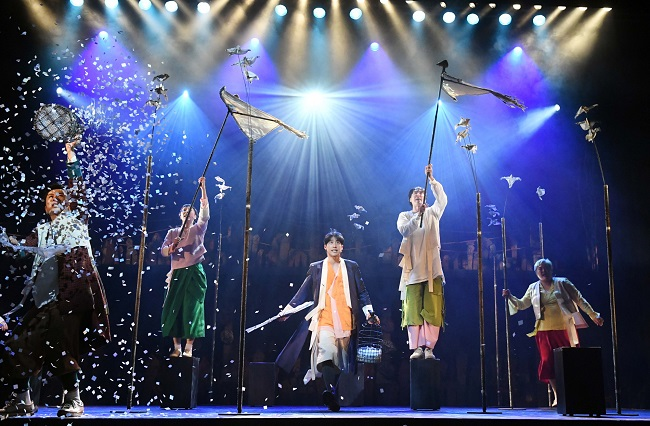 Stage Musicals Embrace Korean Traditional Music to Meet Diversified Demand